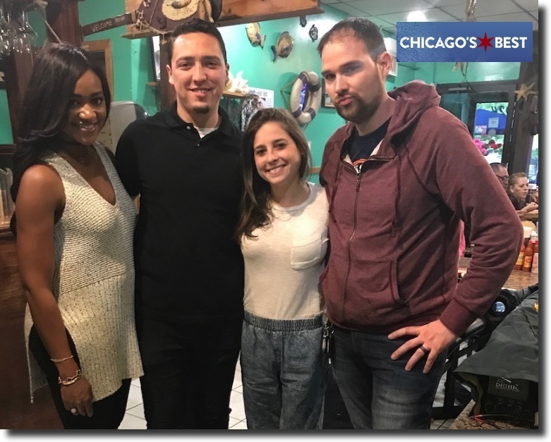 Alegrias seafood chicago chicago's best tv cast
